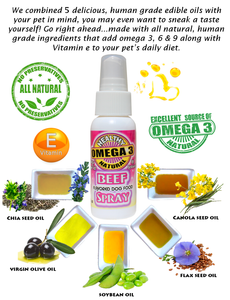 Beef Flavor Spray for dry dog food