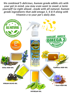 Cheese Spray for dry dog food-Dog Food Topping