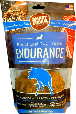 Beef Flavor Endurance Functional Dog Treats Made in USA