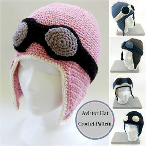 The FABULOUS Aviator Hat Crochet Pattern Update