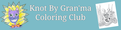 Join the Knot By Gran'ma coloring club through Patreaon
