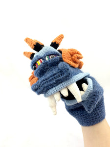 Monster Puppet Crochet Pattern