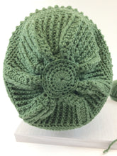 Sand Dollar Slouch Hat Crochet Pattern