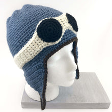 Crochet Pattern Aviator Hat - Knot By Gran'ma