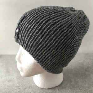Cat Butt Beanie Gray Heather Hat