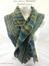 Not A Shawl Shawlette Crochet Pattern - Knot By Granma