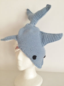shark hat pattern