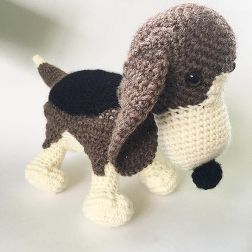 Custom Basset Hound Dog Doll