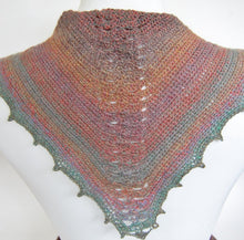 Manta Ray Scarflette Crochet Pattern
