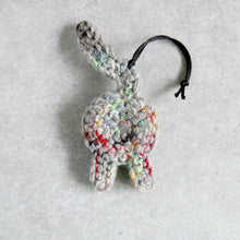 Funny Rainbow Gray Cat Butt Ornament - Knot By Gran'ma