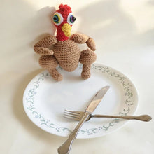 Roast Turkey Plush Doll Crochet Pattern