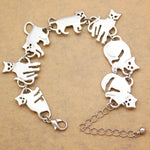 Many Cats Necklace