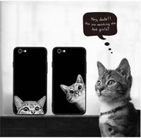 Case Phone Mysterious Cat