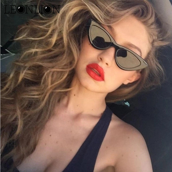 Lion/Cat Eye Sunglasses