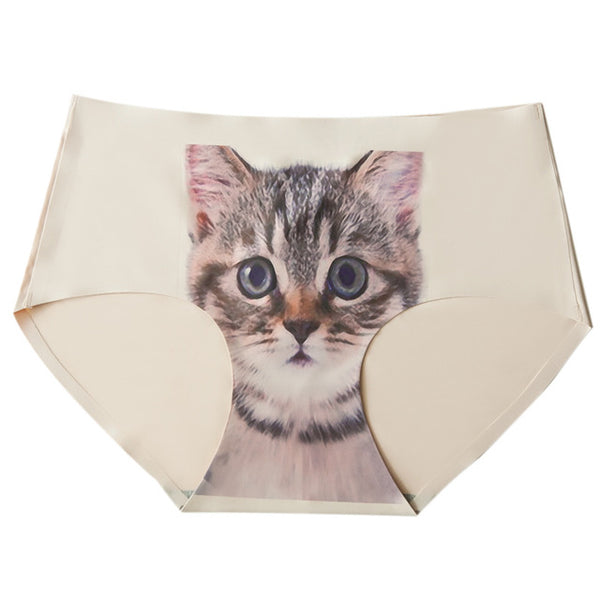 Super Cute Kitten Underwear Print
