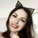 Boudoir Cat Ears Headband