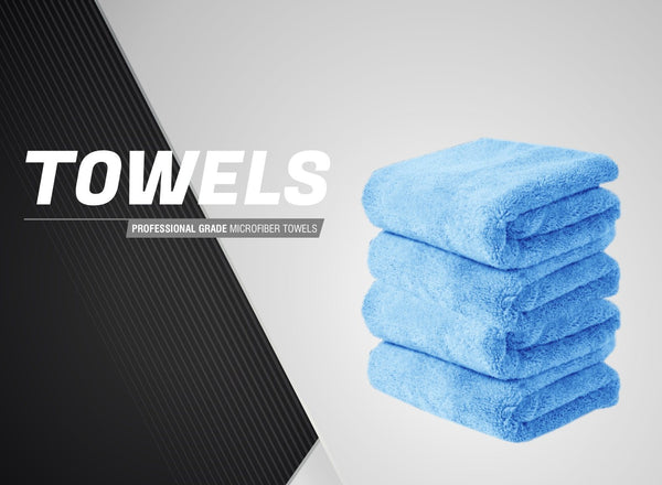 Packs PRODUXA Professional Grade Super Absorbent Premium Ultra Plush Microfiber Towels for Car Cleaning /& Auto Detailing 800 GSM Assorted Colors Pack of 3