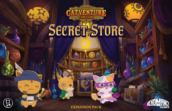 Purrballs: Catventure Card Game - Secret Store