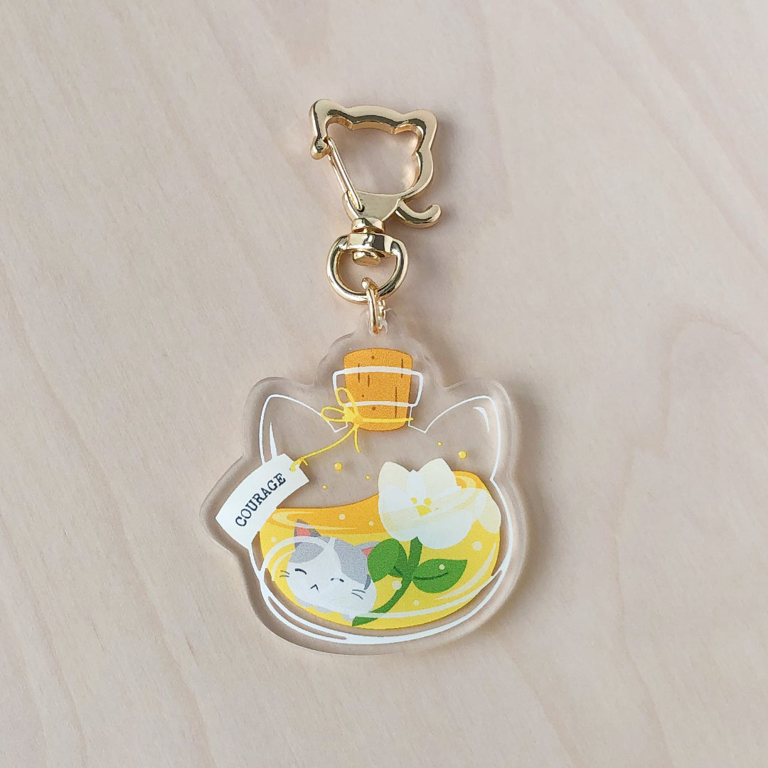 Courage Potion Acrylic Charm