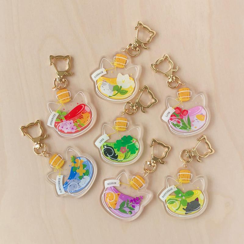 Happiness Potion Acrylic Charm