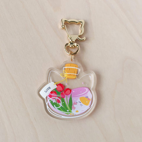 Love Potion Acrylic Charm