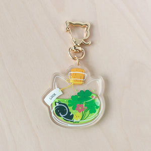 Luck Potion Acrylic Charm