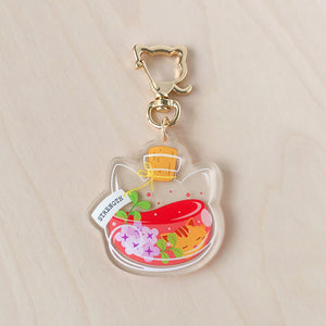 Strength Potion Acrylic Charm
