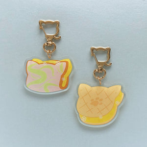 Sweet Corn Ice-cream Acrylic Charm