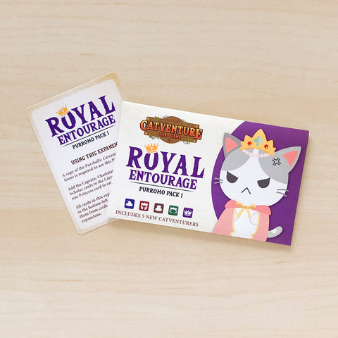 Royal Entourage Purromo Pack