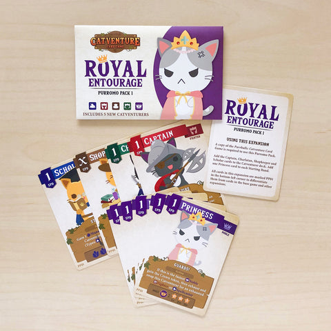 Purrballs: Catventure Card Game - Royal Entourage