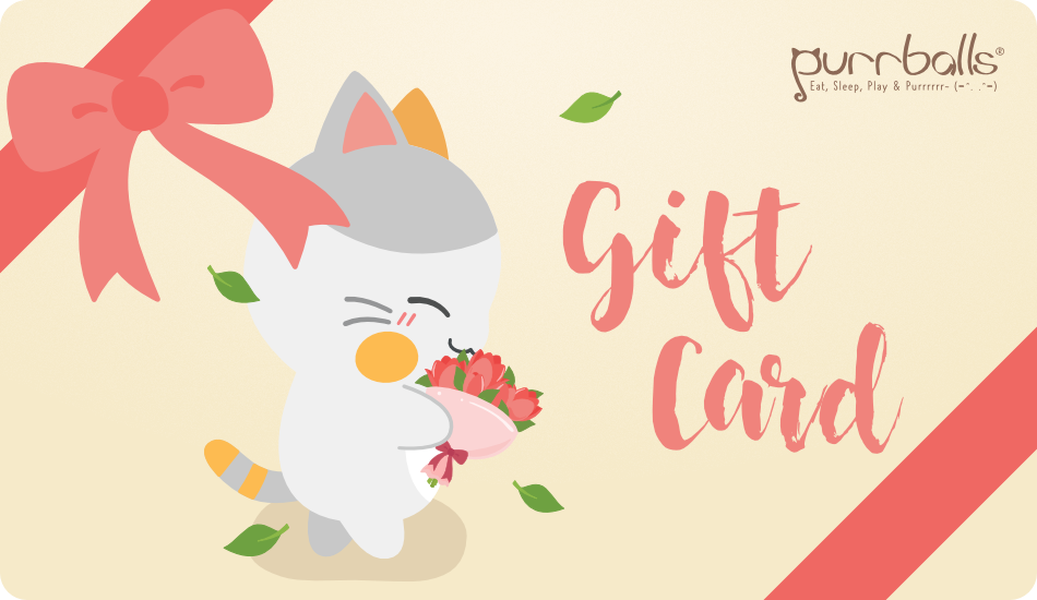 Purrballs Gift Card
