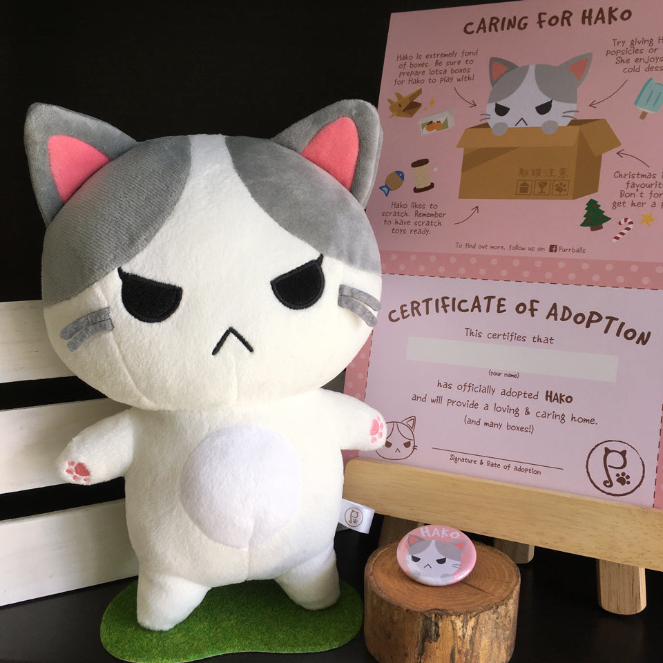 Hako Adoption Kit - Purrballs