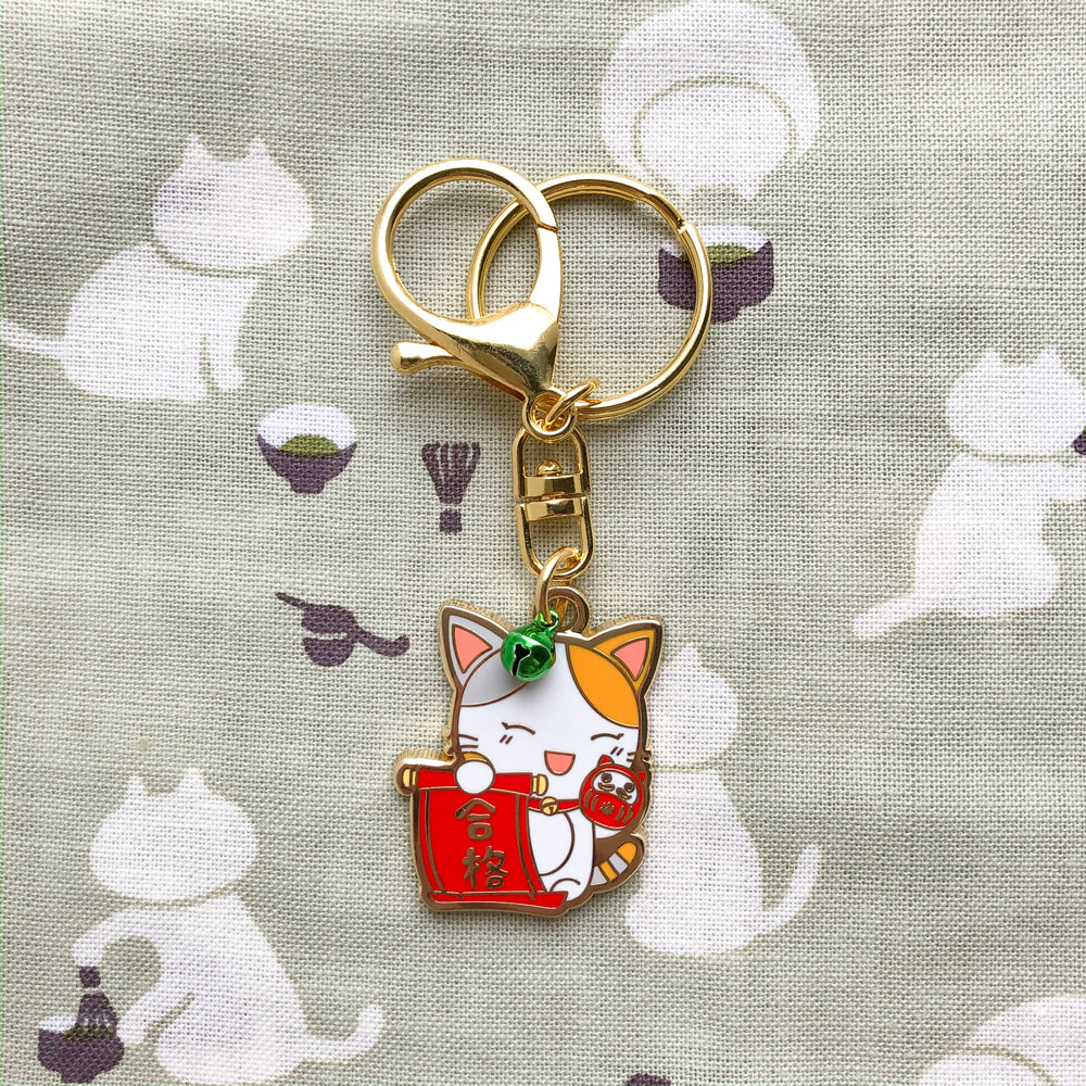 Education Luck Maneki Tama Charm