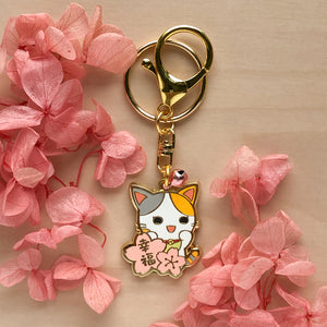 Happiness & Bliss Maneki Tama Charm