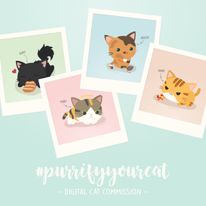 Purrification: Digital Cat Commission
