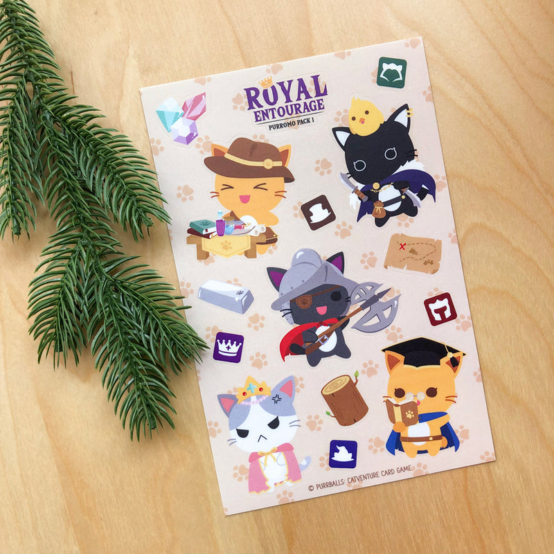 Royal Entourage Sticker Sheet