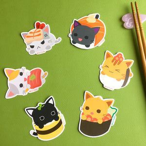 Sushi Shop Stickers - Full Set