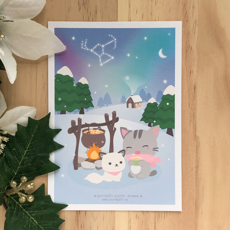Winter Dreams Art Print