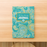 Rank Makers 90-Day Activity Tracker Journal - Blue/ Pink Paisley (annual subscription) Save 20%