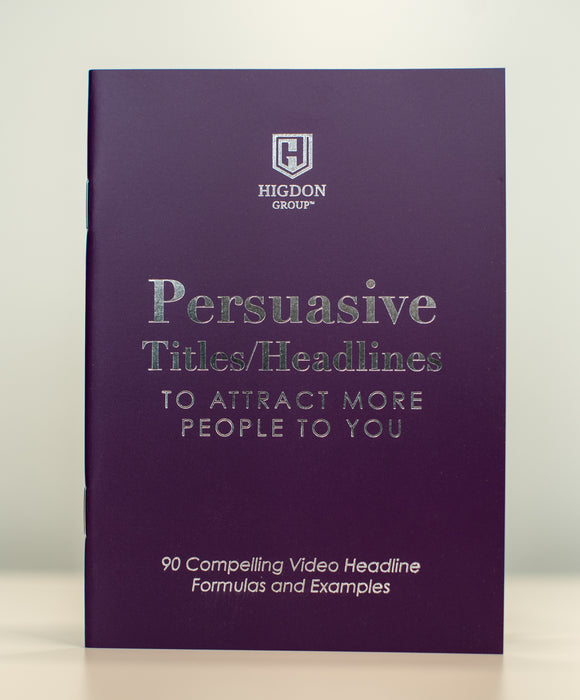 Persuasive Titles & Headlines Mini Book