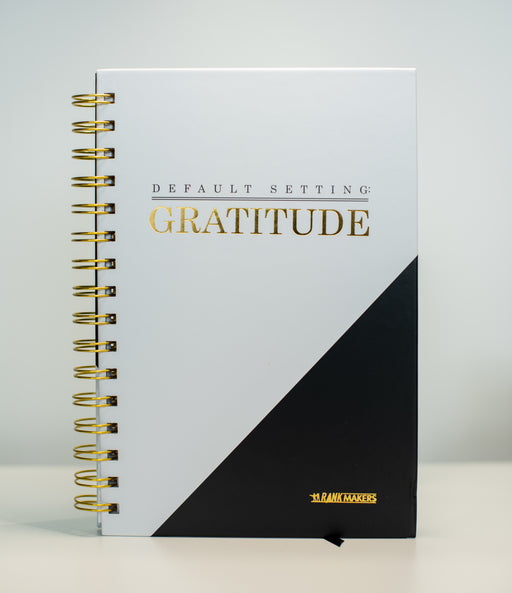 Gratitude Journal (with 12 Pack of Wealth Wednesday Cards Included)