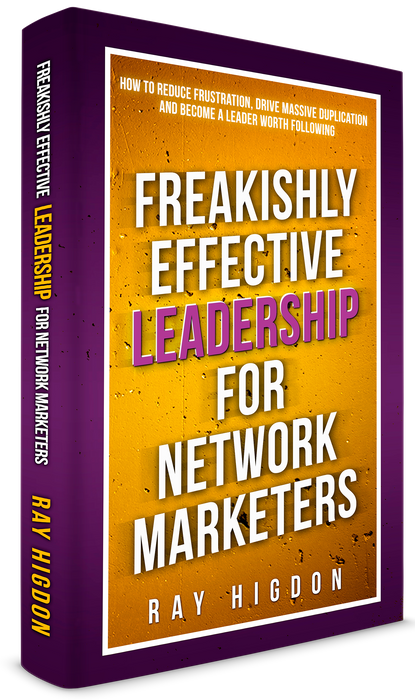 Freakishly Effective Leadership For Network Marketers Book