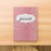 Rank Makers 90-Day Activity Tracker Journal - Pink Sparkle (annual subscription) Save 20%