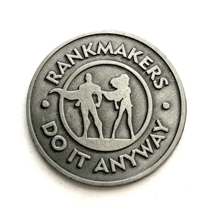 """Do it Anyway"" Coin Keepsake"