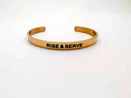 Rank Makers Rise and Serve Bracelet