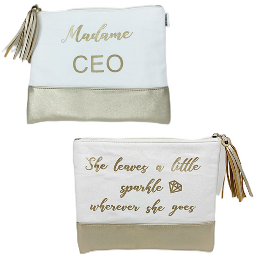Madame CEO Makeup Bag