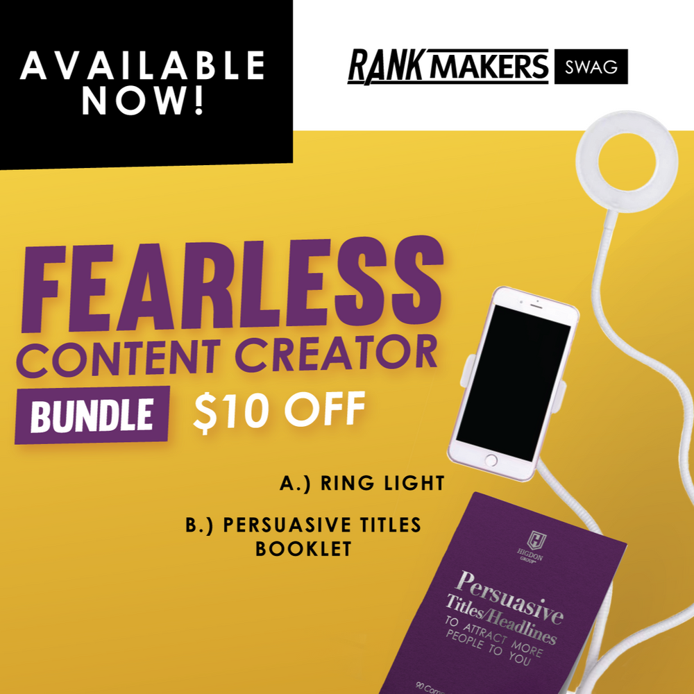 *NEW* Fearless Content Creator Bundle