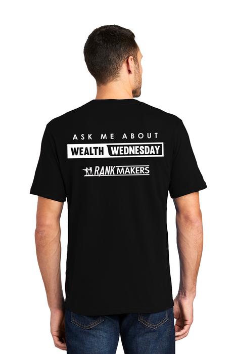 "Men's ""Wealth Wednesday"" T-Shirt (Limited Edition)"