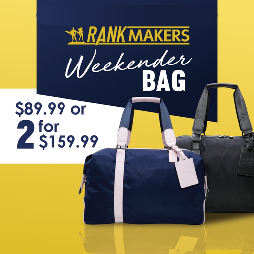 Rank Makers Weekender Bag