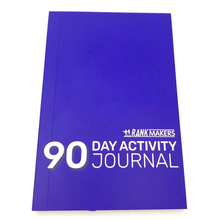 Rank Makers 90-Day Activity Tracker Journal